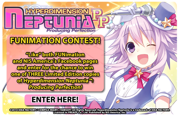 FUNimation contest - win a Limited Edition of Hyperdimension Neptunia: Producing Perfection!