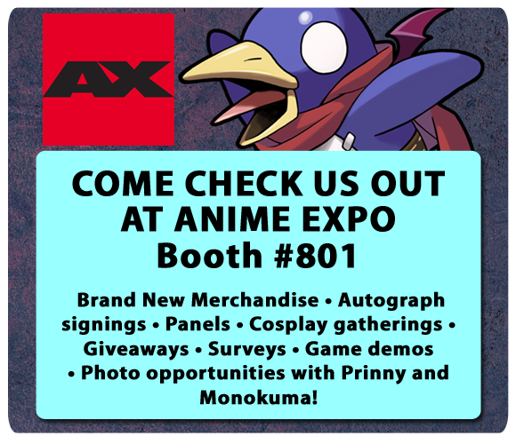 Check us out at Anime Expo!
