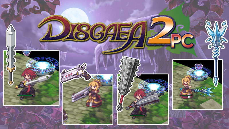 PSST, Want Disgaea 5 Weapons in Disgaea 2 PC? | NIS America