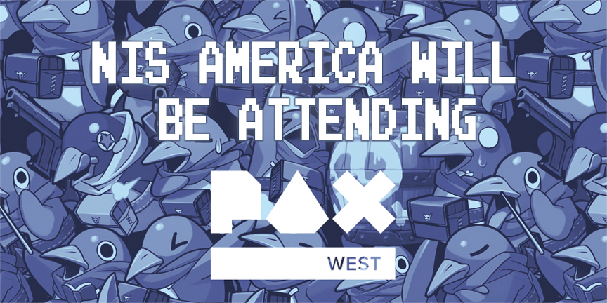 NISA will be going to PAX West!